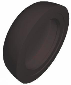 Abdeckkappe braun (1000 ST)