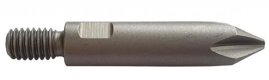 Gewindebit M6 für Schraubautomaten, Phillips PH2 PH2x45 mm (10 ST)