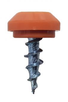 Nippelschraube mit Kunststoffkopf 4,1 x 10 mm (1000 ST)