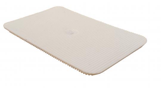 Lastabtragungsklötze / Abstandshalter / Unterlegplatten, weiß 60x40x1.5 mm (1000 ST)