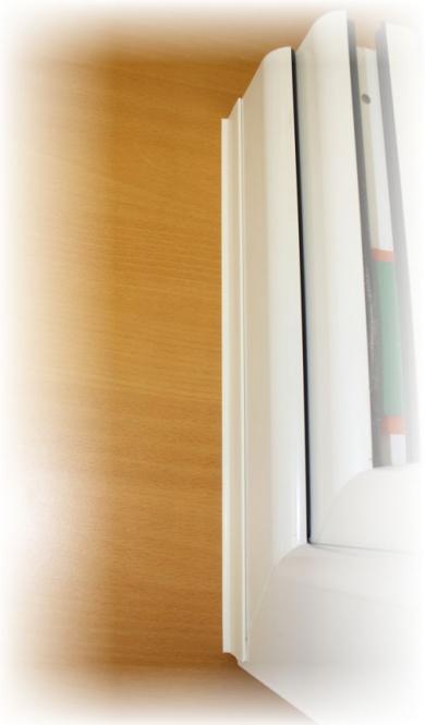 heicko e ast gmbh flachdeckleiste pvc wei mit dichtlippe 30 mm breit auf rolle. Black Bedroom Furniture Sets. Home Design Ideas