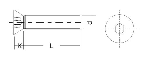 heicko schraubenvertriebs gmbh countersunk screw with hexagon socket din 7991 iso 10642. Black Bedroom Furniture Sets. Home Design Ideas