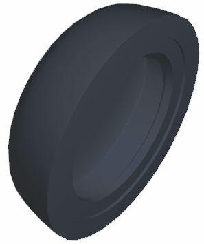 heicko e-ast GmbH | Abdeckkappe, anthrazitgrau RAL 7016