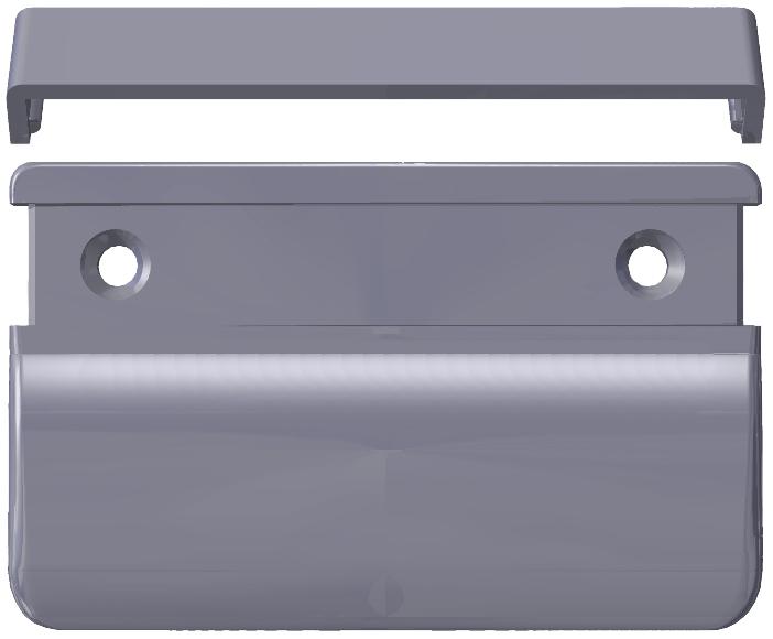 Heicko Schraubenvertriebs Gmbh Rectangular Balcony Door Handle For