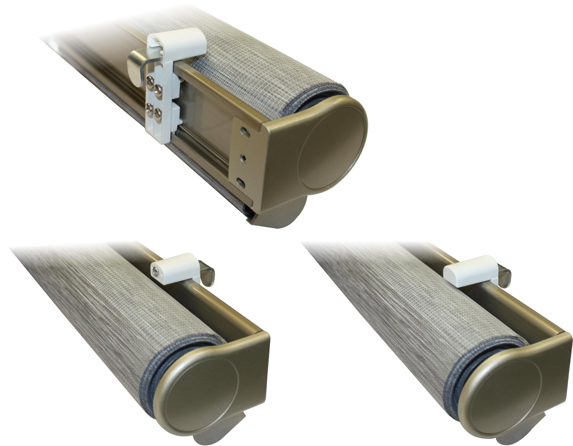 heicko e ast gmbh 2x klemmlager f r rollos mit f hrungsschiene 5 25 mm rahmenst rke. Black Bedroom Furniture Sets. Home Design Ideas